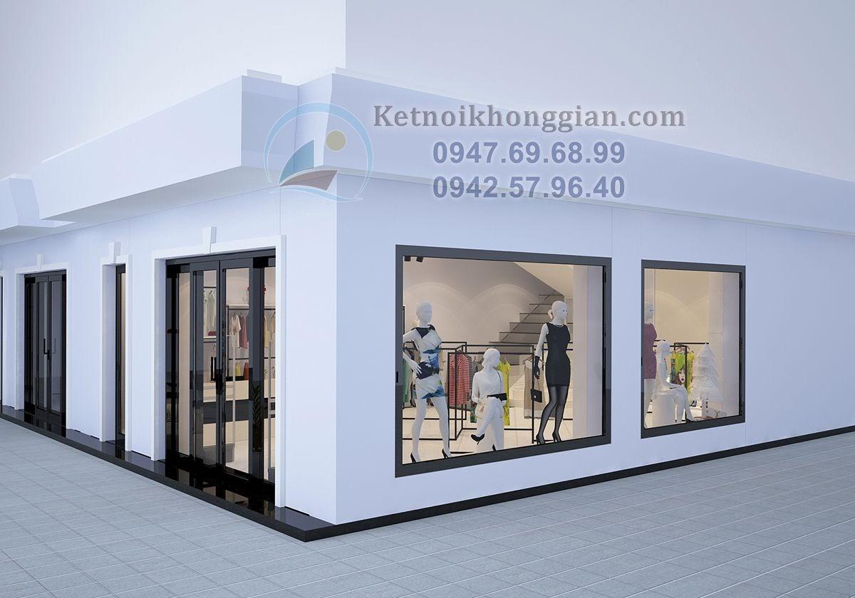 thiết kế shop thời trang nữ đẳng cấp