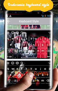 Indonésie keyboard theme - náhled