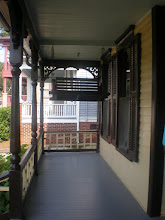 Photo: front porch of MLK home