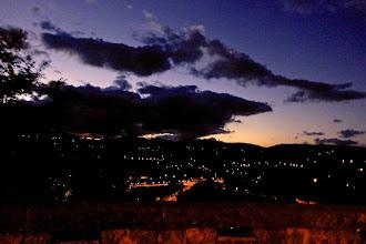 Photo: Gros nuages sur Aubenas, samedi soir