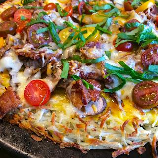 Hashbrown Breakfast Pizza – Gluten Free