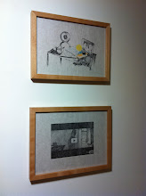 """Photo: drawings (2006) from """"the possible ties between illness and success"""" 2006-07"""