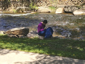 Photo: Writing Journal by Big Thompson River