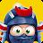 Clumsy Ninja logo