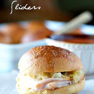 Turkey Reuben Sliders