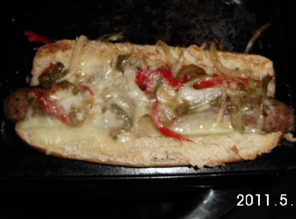 Italian Sausage Sub W/peppers & Onions