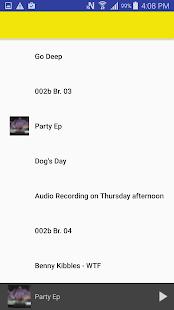 Recent List for SoundCloud ©