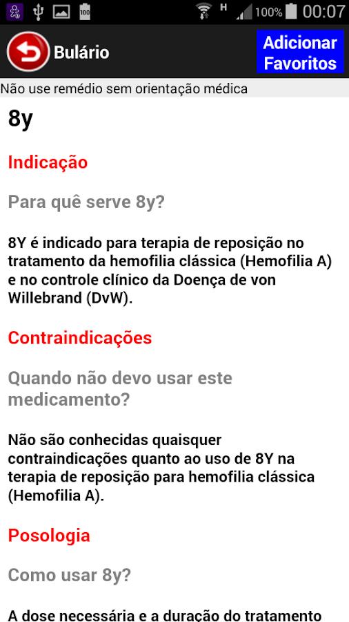 Bulário Bulas Remédios PREMIUM- screenshot