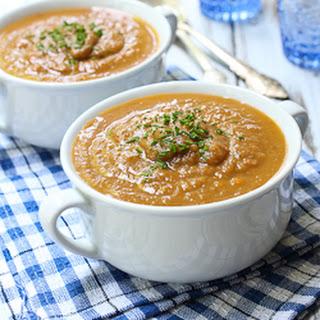 Eggplant Vegetable Soup.