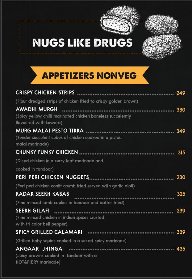 Cirkus menu 2