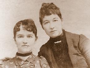 Photo: Elmertie & Nancy A. Holman daughters of Absolem J & Millie Elizabeth Lovelace Holman