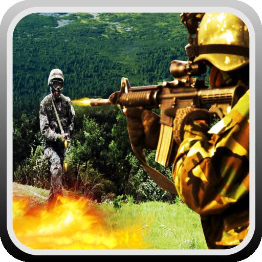 动作のゴーストスナイパーコマンドー戦士 LOGO-記事Game