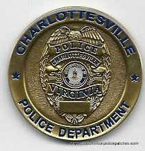 Photo: Charlottesville Police, Challenge Coin (Reverse)