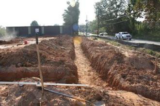 Photo: Footing layout New building Atlanta, Ga.