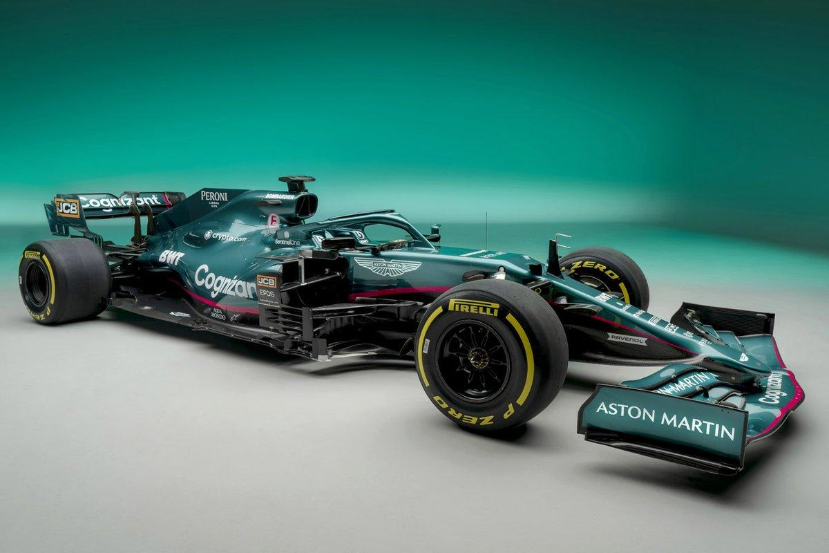 The 12 month journey to settle Aston Martin's new F1 livery