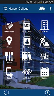 Harper College - screenshot