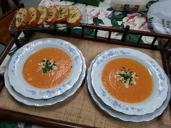 Tomato Gorgonzola Soup Recipe