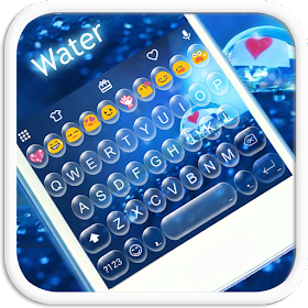 Water Emoji Keyboard Theme
