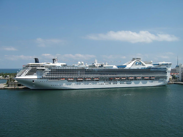 Star Princess sails the Pacific, spending summers in Alaska and winters in Hawaii, Mexico and South America.