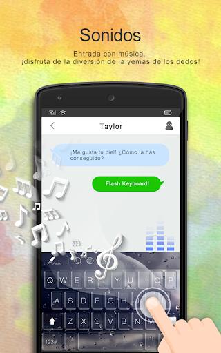 Flash Keyboard - Emoji & Theme screenshot 7