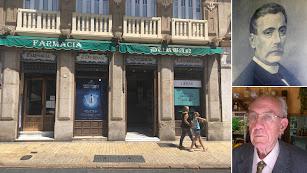 El establecimiento anuncia la liquidación de existencias. El fundador José Quesada y su bisnieto Juan José Durbán.