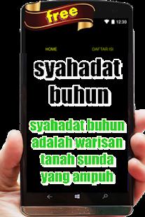 Sahadat Buhun - náhled