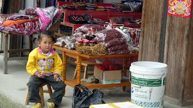 Photo: Future postcard seller at Longhi Rice Terraces