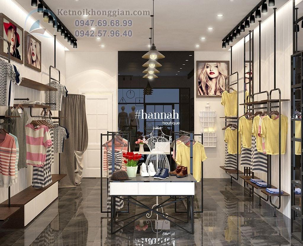thiết kế shop thời trang nữ tại thủy nguyên Hải Phòng
