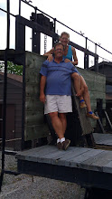 Photo: at Big Chute on the old marine railway car