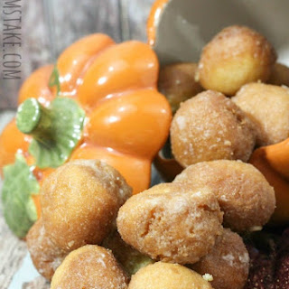 Baked Pumpkin Donut Holes Recipe