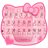 Delicious Pink Kitty Cupcake Keyboard Android APK Download Free By Bs28patel