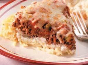 Cool Spaghetti Pie Recipe