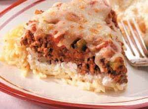 Cool Spaghetti Pie Recipe