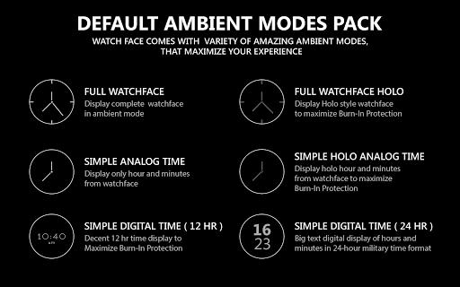 Watch Face - Minimal Elegant