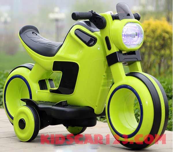 Xe máy điện cho bé - 998 xanh lá