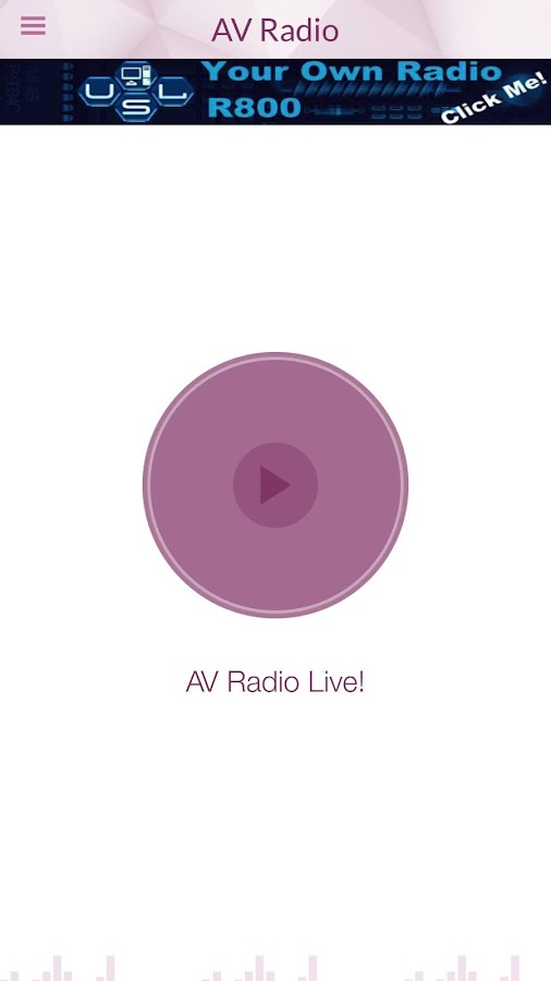 Radio AV- screenshot