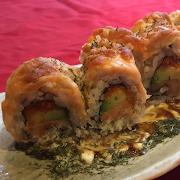 Golden Salmon Roll(8)