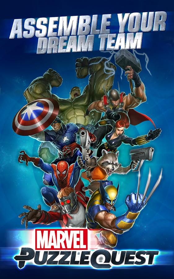 Marvel Puzzle Quest- screenshot