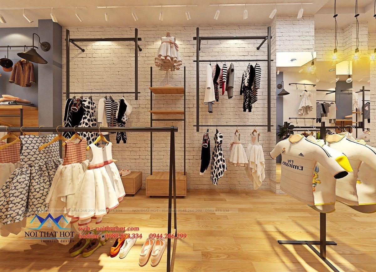 thiết kế shop thời trang trẻ em 24.baby 6