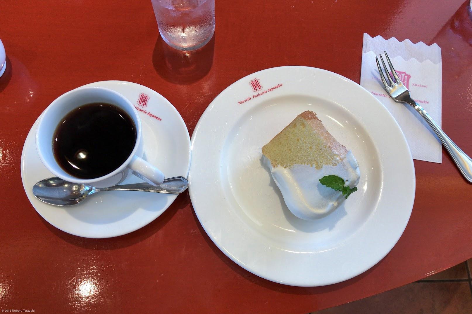 シフォンケーキ&コーヒー
