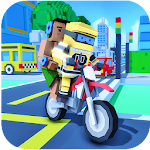 Moto Bike Taxi Drive: Craft Edition Icon