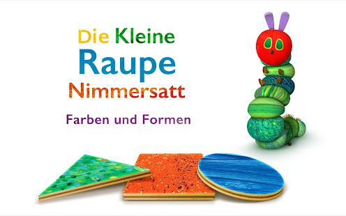 Kleine Raupe Nimmersatt Formen – Apps bei Google Play