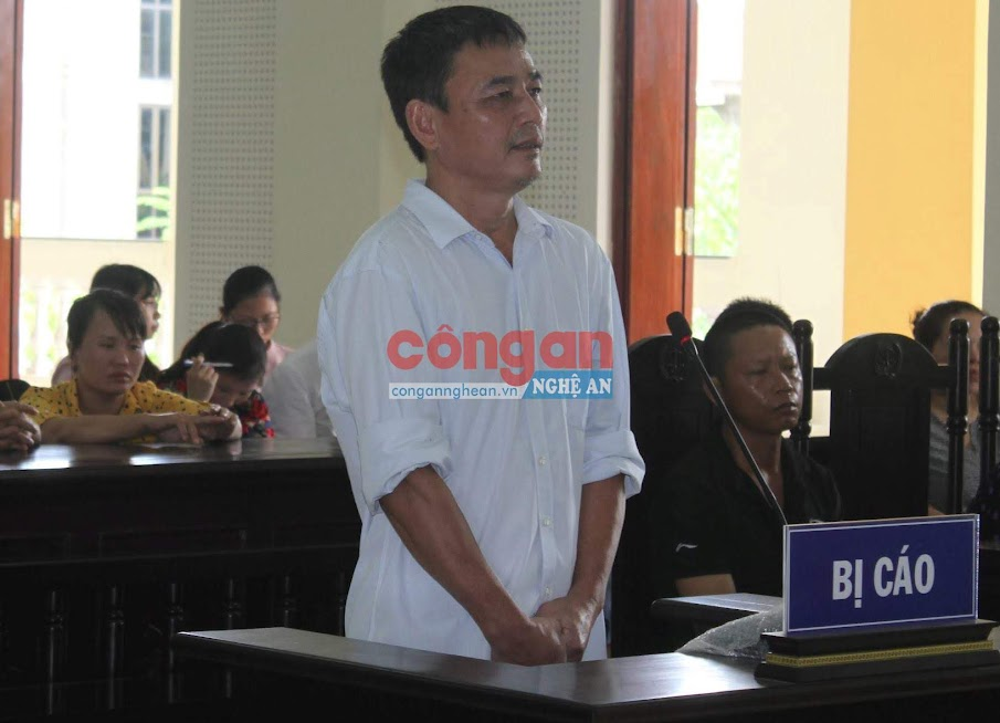 Bị cáo Nguyễn Bá Định gửi lời xin lỗi và mong phía gia đình bị hại tha thứ