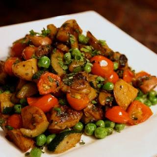 Mediterranean Vegetable Hash