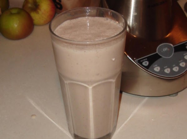 Pomegranate And Chocolate Peach Protein Breakfast Smoothie Recipe