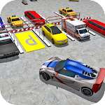 Real Garage City Car Parking Icon