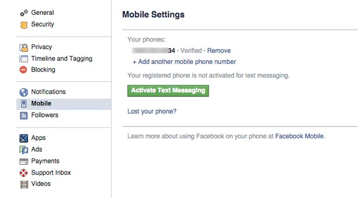 how to receive alert if anyone logged into your Facebook account