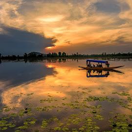 Travel Through the Light by Manabendra Dey - Landscapes Sunsets & Sunrises