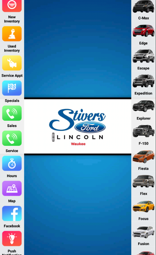 Stivers Ford Lincoln- screenshot