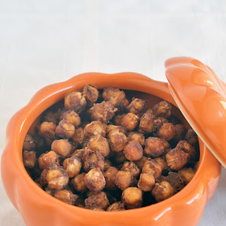 Pumpkin Spice Roasted Chickpeas Recipe